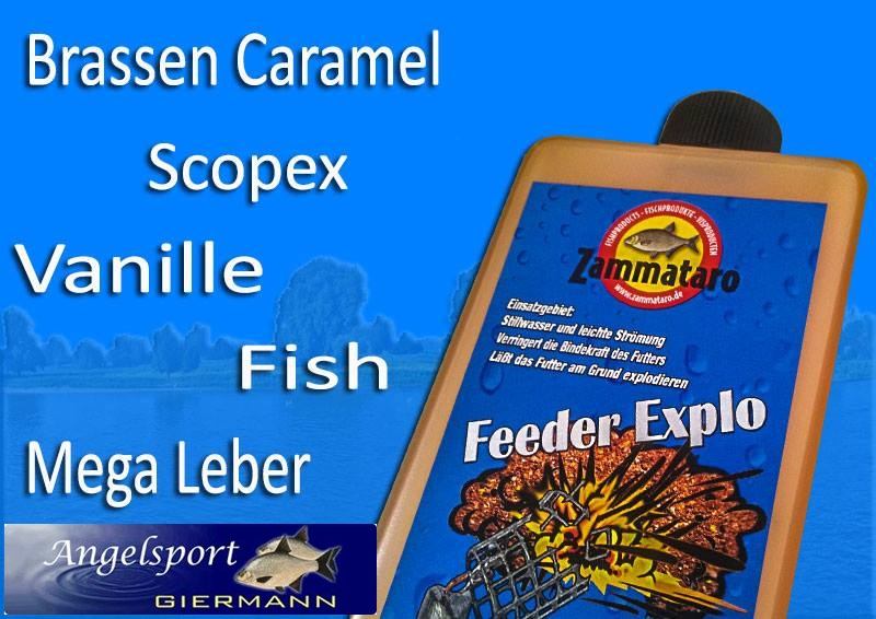 "Zammataro Feeder Explo ""Fish"" 500ml"