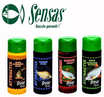 Sensas Attractix Bremes 75ml