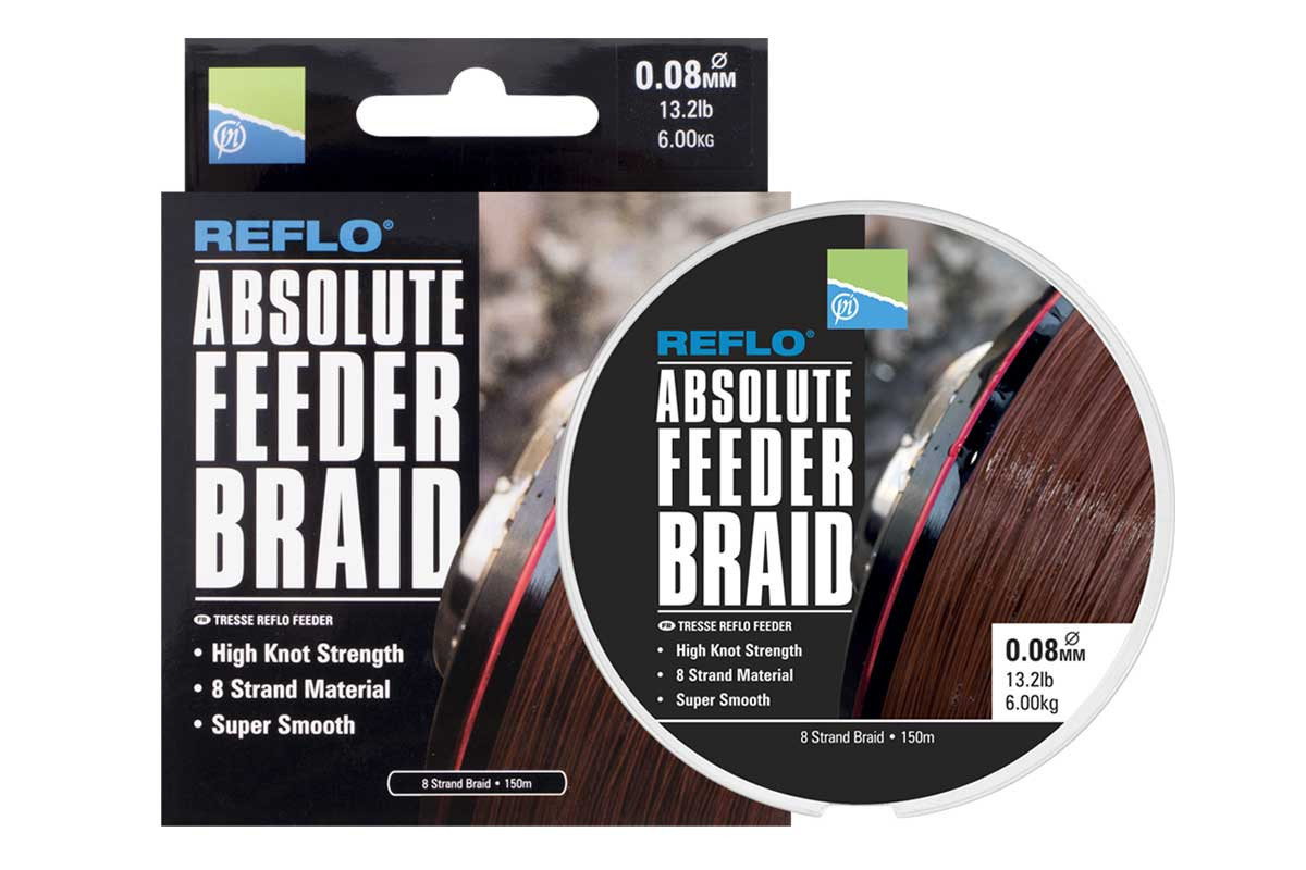 Absolute Feeder Braid 0,10mm - 150m