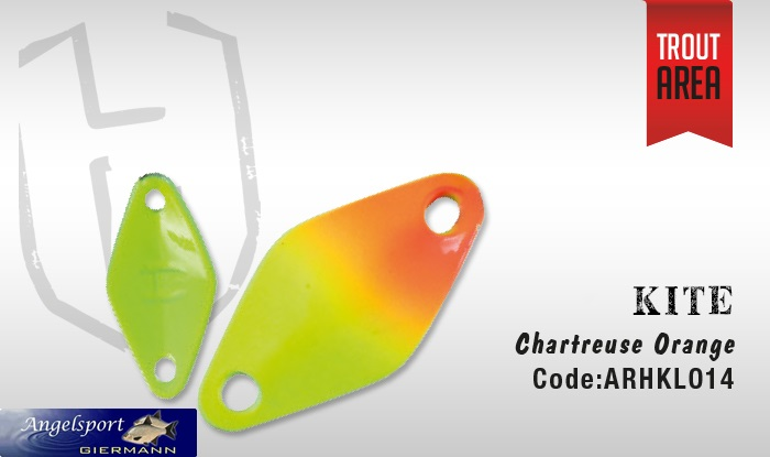 Herakles Kite Chartreuse Orange