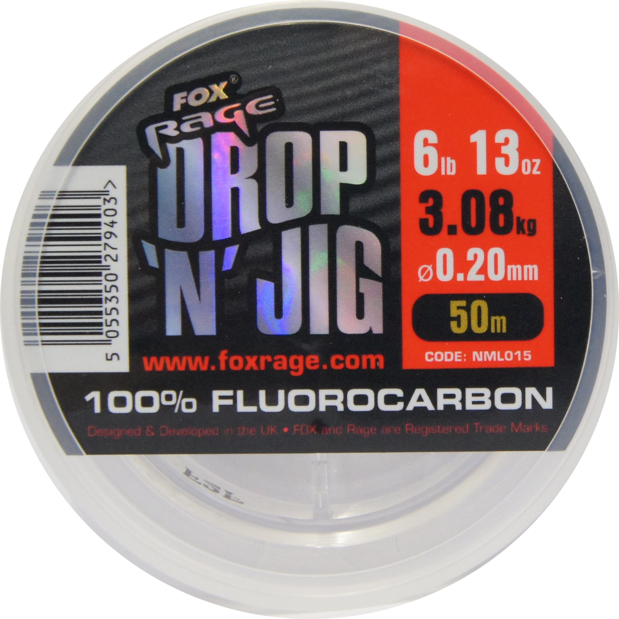 Fox Rage Flurocarbon 0,20mm