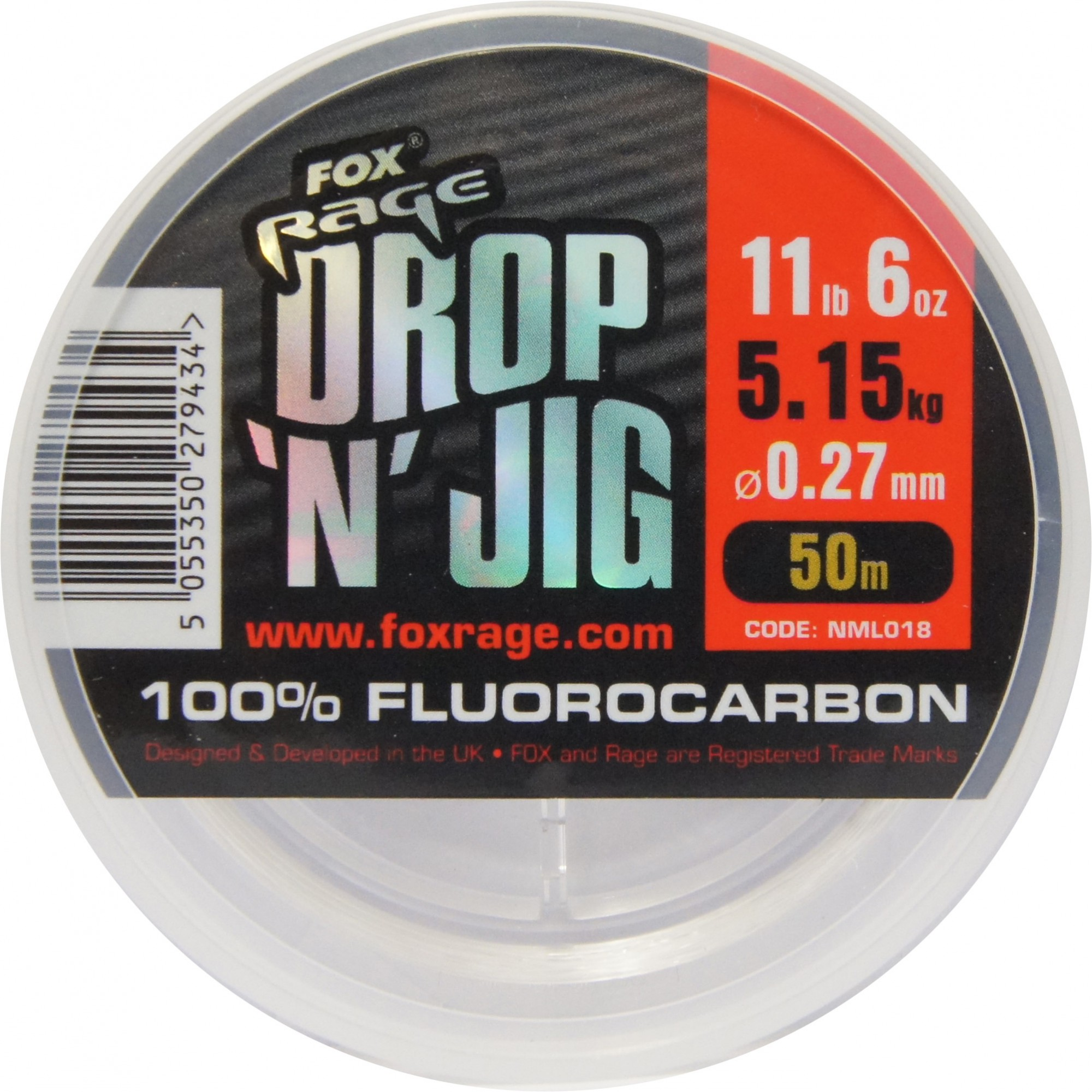 Fox Rage Flurocarbon 0,27mm