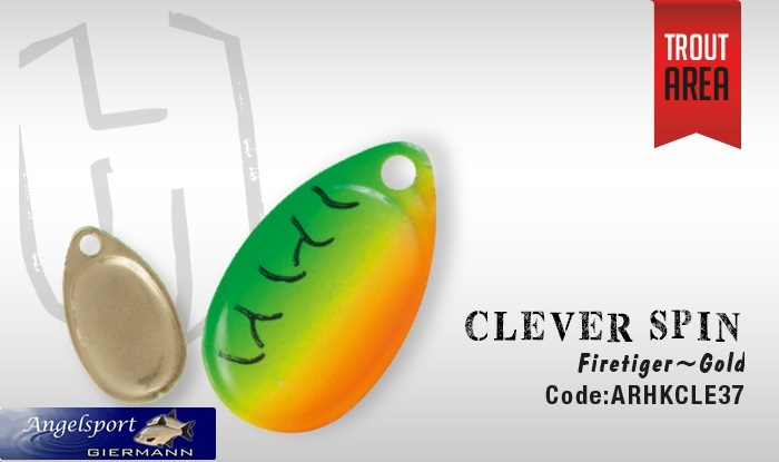 Herakles Clever Spin Firetiger Gold