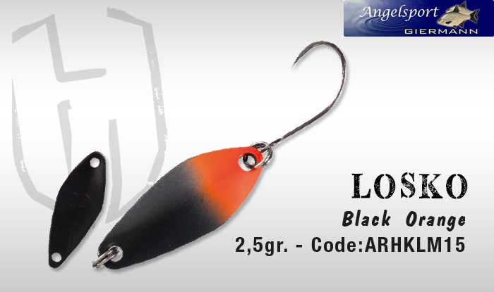 Herakles Losko 2,5g Black Orange